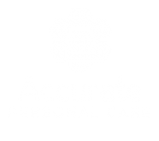 Accurate Personal Care Logo Stacked Wh